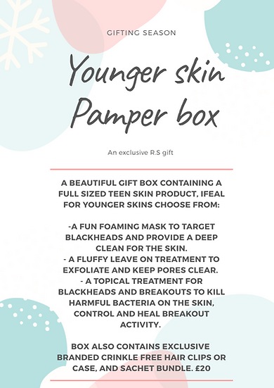 Younger Skin Pamper box