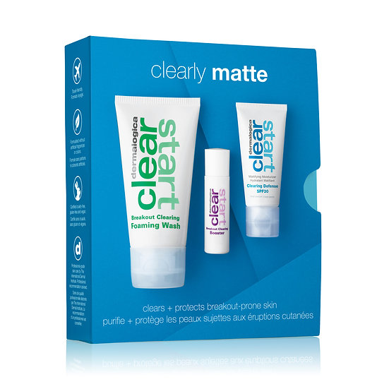 Clear start clearly matte
