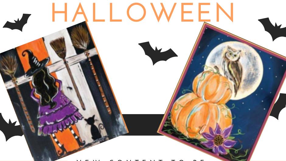 Halloween Acrylic Painting Kit