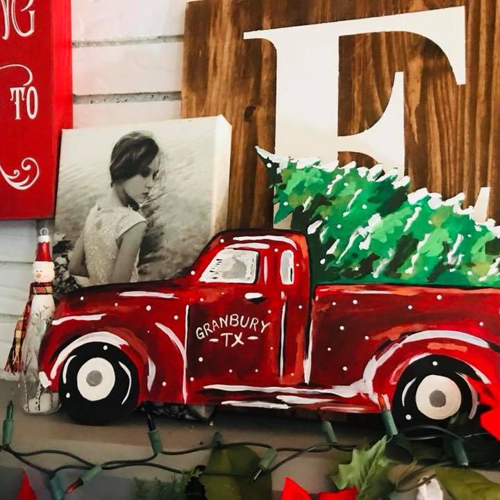 Truck and Tree Acrylic
