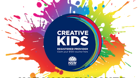 VIP for 2020 Creative Kids Voucher Users