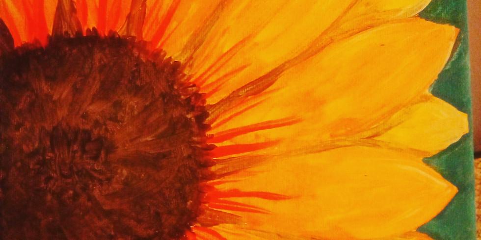Acrylic Sunflower (FULL)