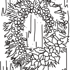 Winter Wreath Tracer