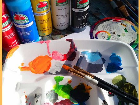 How to Mix Acrylic Craft Paint Colors