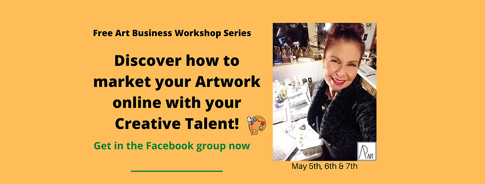 Free Art Business Workshop fb group here