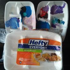 foam plate palettes