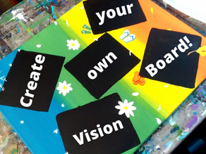 Creative Vision Board Challenge