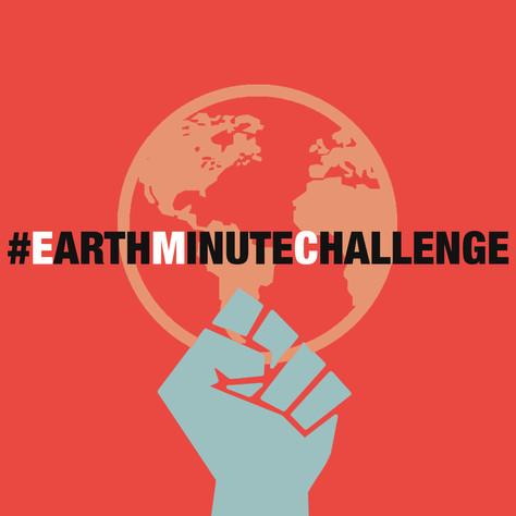 #EarthMinuteChallenge