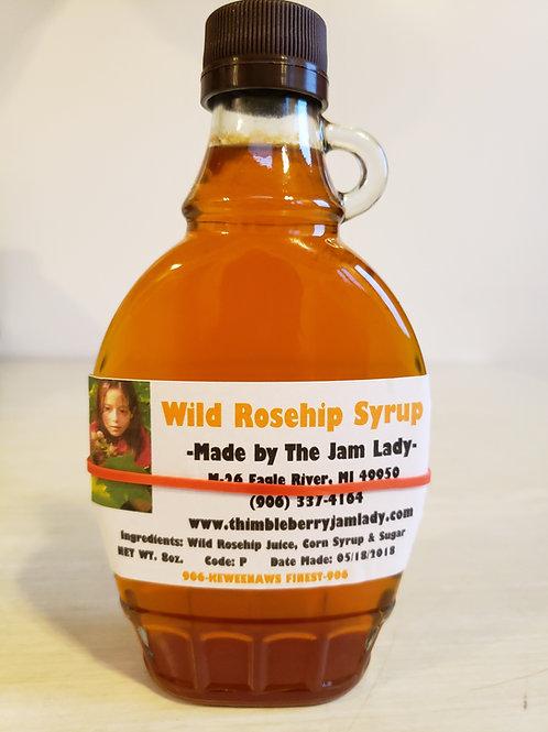 Wild Rosehip Syrup