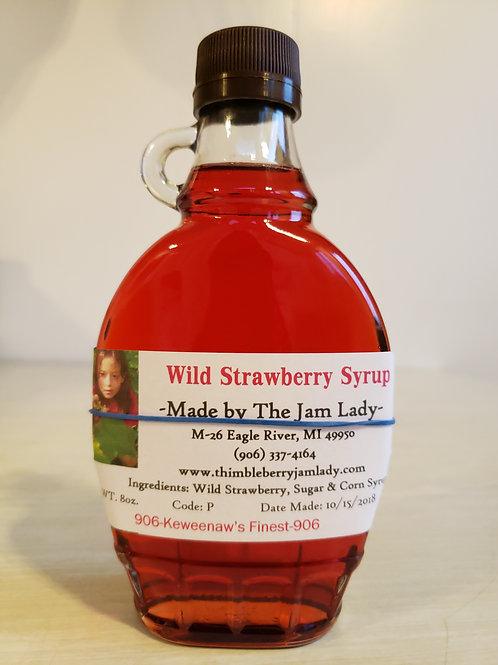 Wild Strawberry Syrup