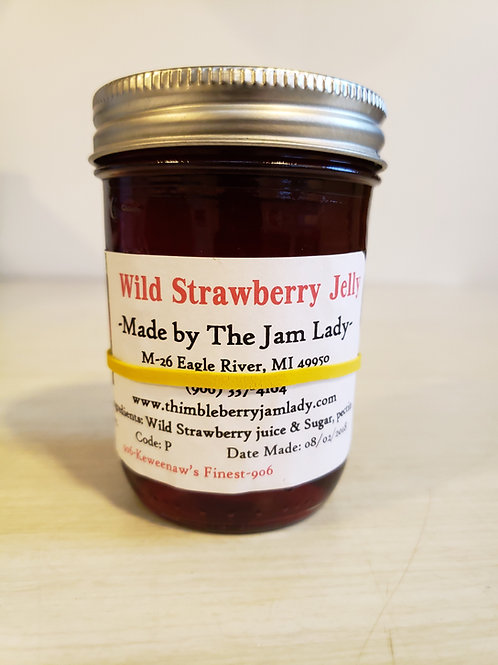Wild Strawberry Jelly (Limited Supply)