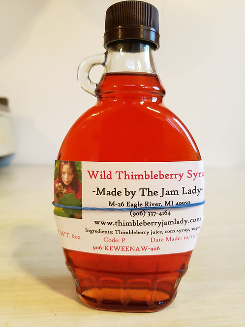 Wild Thimbleberry Syrup