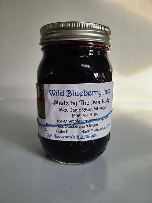 Wild Blueberry Jam *Pint Size Only*