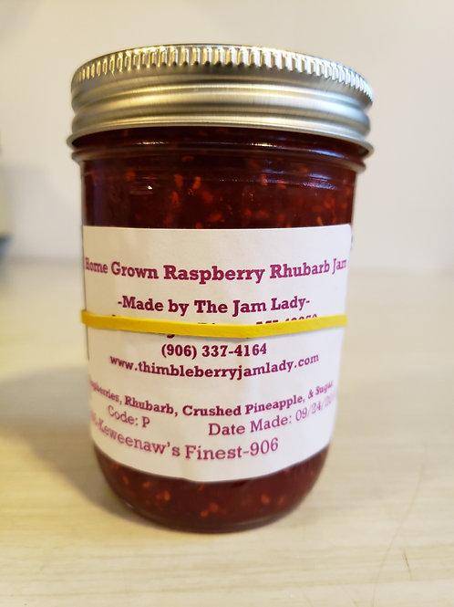 Raspberry Rhubarb Jam *Pint Size Only*