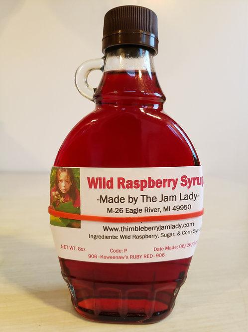 Wild Raspberry Syrup