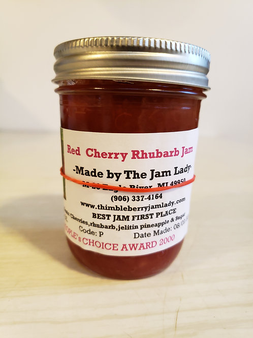Cherry Rhubarb Jam (Limited Supply)