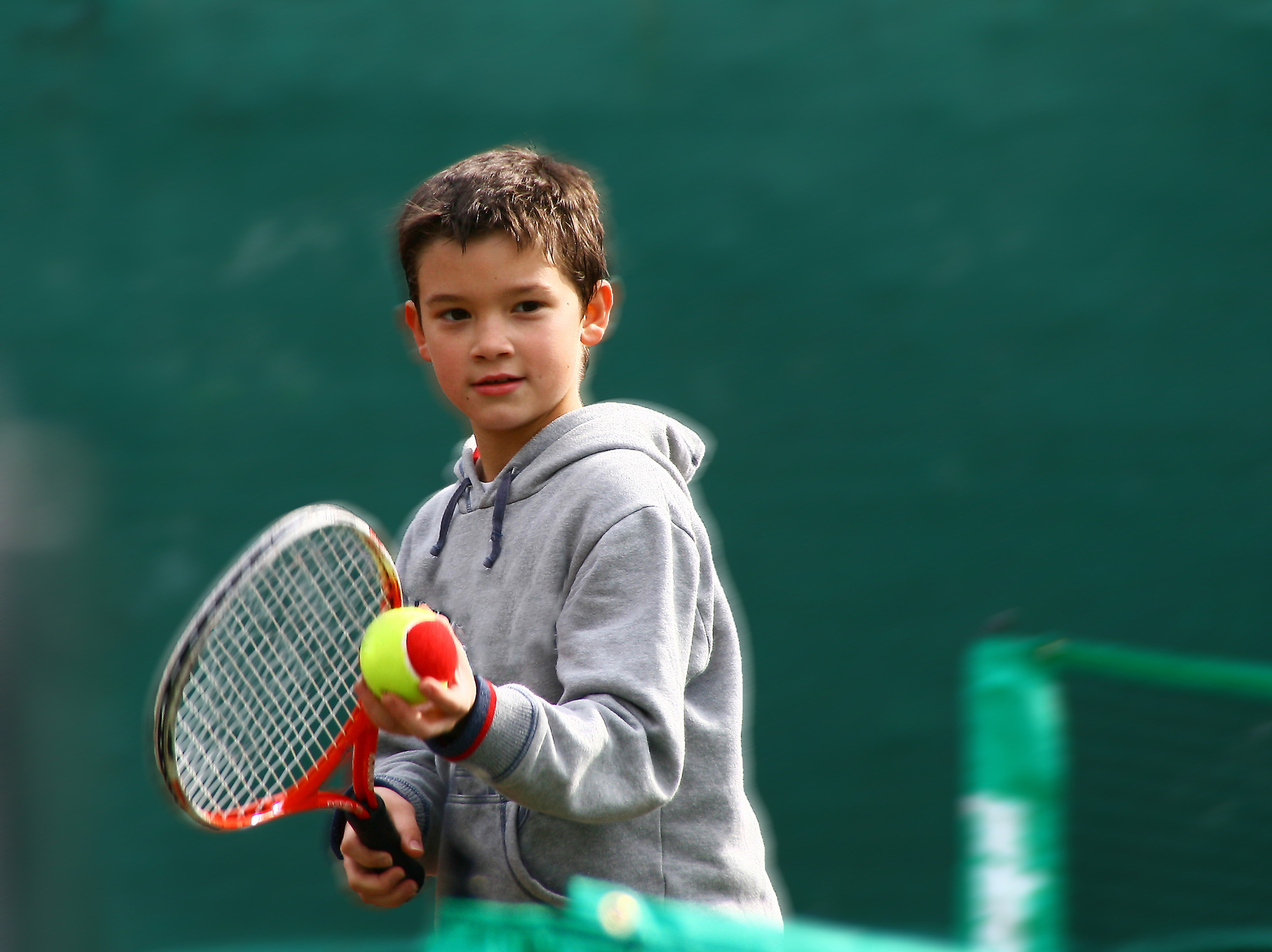 U8 Tennis Lessons - Session 1