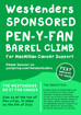 Westenders Sponsored Pen-y-Van Barrel Climb for MacMillan Cancer Support
