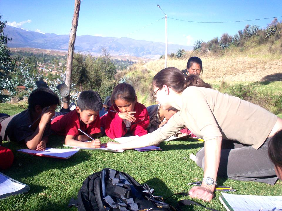 teaching outside the school, english