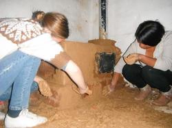 Trabajo final en la construccion de cocinas mejoradas