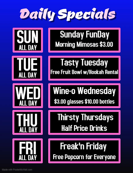 Daily Specials - Made with PosterMyWall.