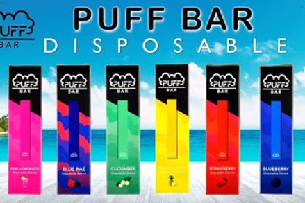 Puff Bar Disposable Pod 300+ Puffs