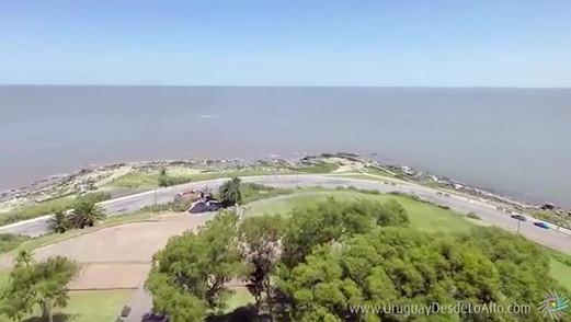 Vista aérea del barrio Punta Gorda