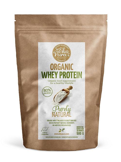 Biologische Whey Proteïne 80% Eiwit - 500gram