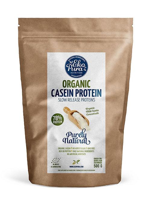 Biologische Caseïne 78% Eiwit - 500 gram