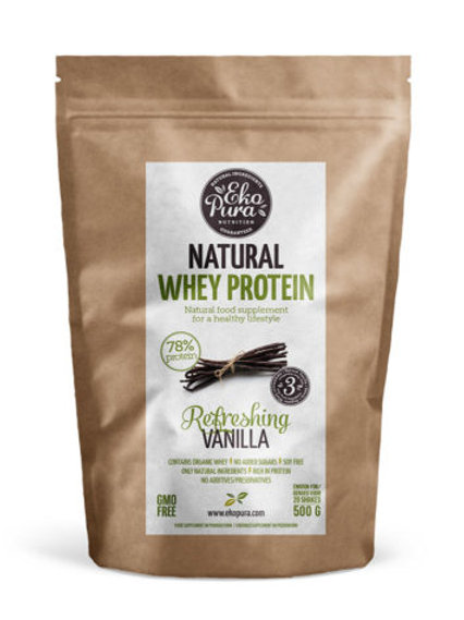 Natuurlijke Whey Proteïne Vanille