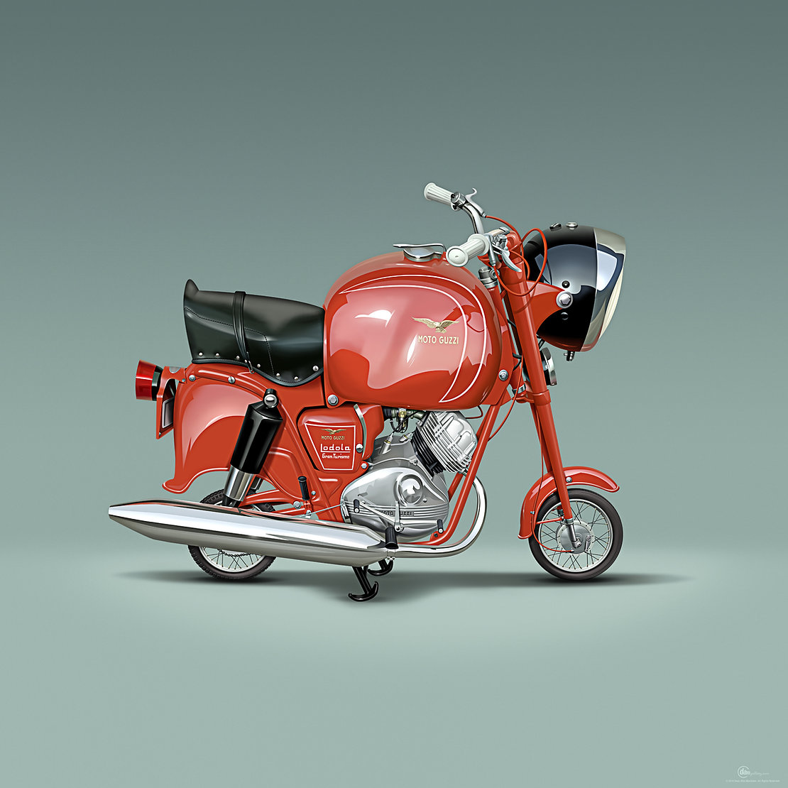 1956 Moto Guzzi Lodola Gran Turismo