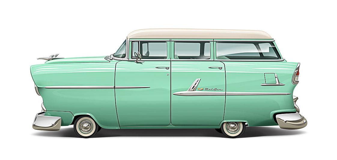 1955 Chevrolet Belair Wagon