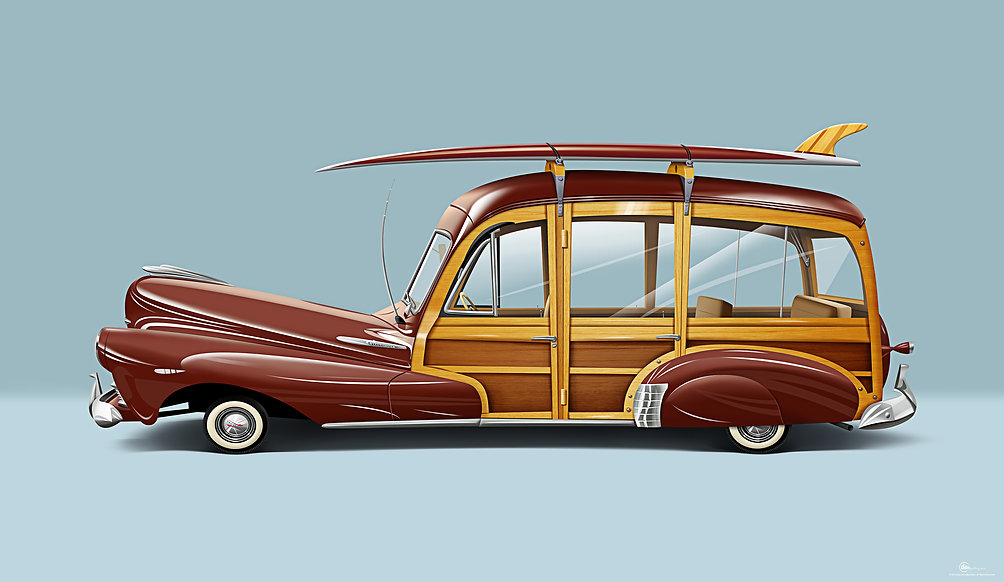 "1948 Chevrolet Fleetmaster ""Woody"""