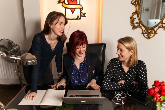 Alison, Ali and Katy