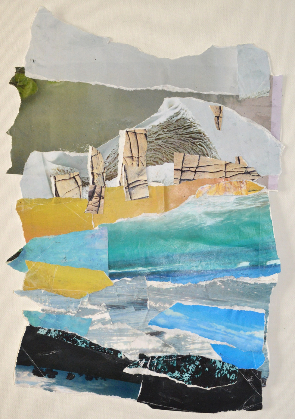 Seven Sisters, collage
