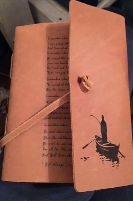 """Leather Journal 5"""" x 7"""""""
