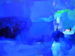 水の反射 910×1303