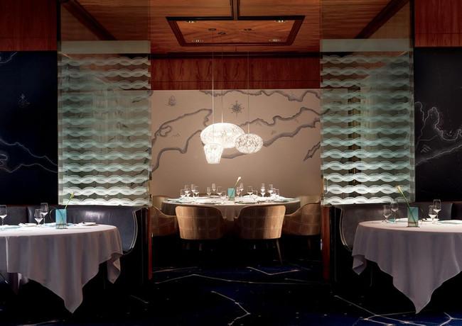 Blue by Eric Ripert at the Ritz-Carlton