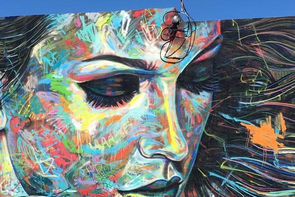 Wynwood street art by urban artists