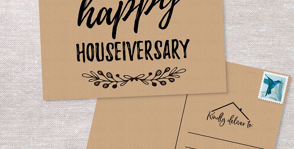Home Anniversary Postcards
