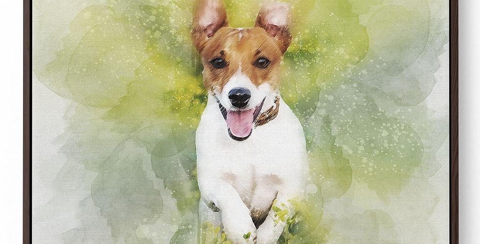 Pet Portrait Canvas