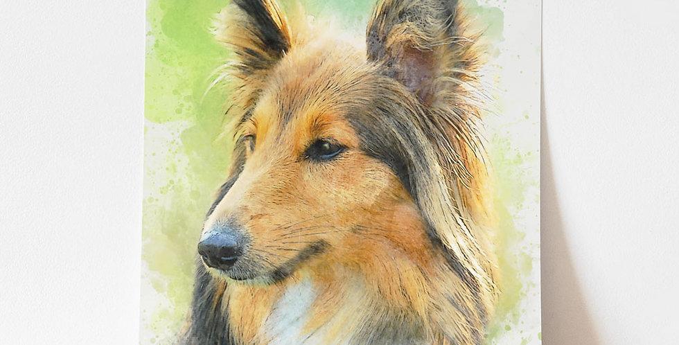 Unframed Pet Portrait