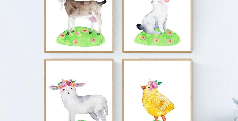 Nursery Farm Animals