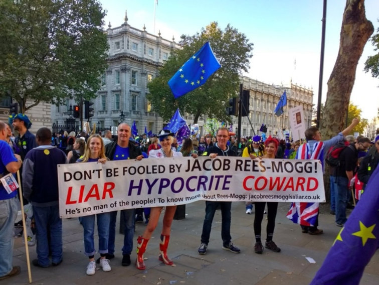 Downing Street Vigil, Whitehall, Westminster