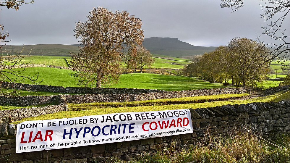 Pen-y-Ghent from Horton-in-Ribblesdale, Yorkshire