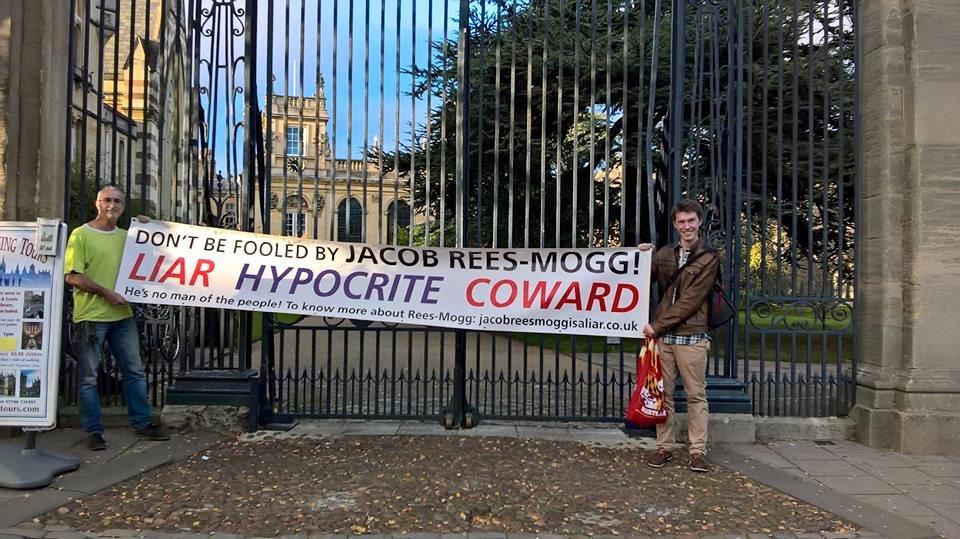 Trinity College, Oxford. Mogg's alma mater.