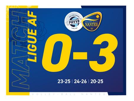 Le VB Nantes gagne et retrouve le podium de Ligue AF !