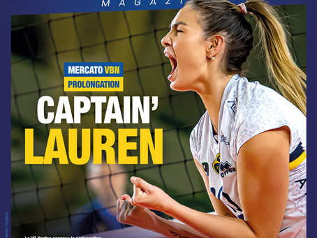Captain' Lauren reste au VBN !