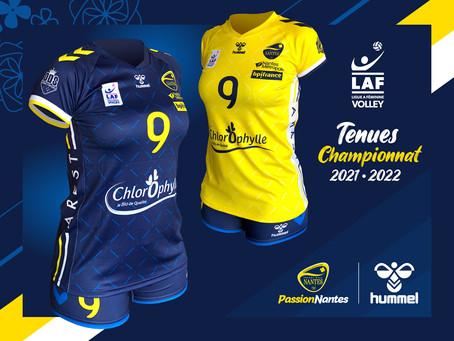 Le VB Nantes dévoile ses tenues PassionNantes avec Hummel !