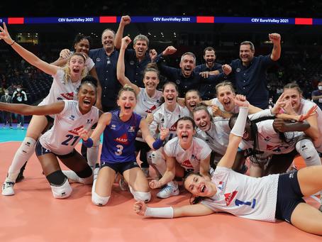 L'équipe de France en quart de finale de l'Eurovolley !